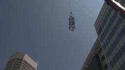 HD2009-6-36RC-9 mammoet crane lift span z Stock Video Footage
