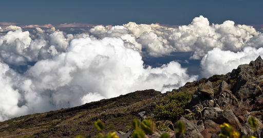 4K Timelapse of Haleakala Volcano, Hawaii Footage