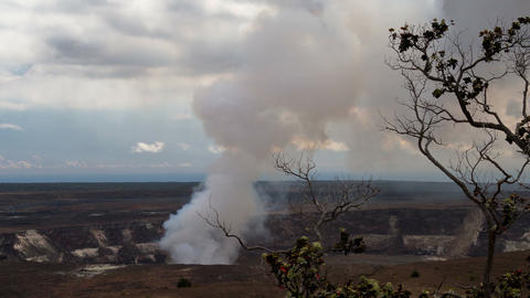4K Timelapse of Kilauea volcano, Hawaii Footage