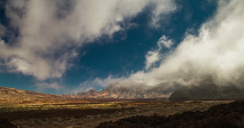 4K Timelapse of Pico Del Teide on Tenerife Footage