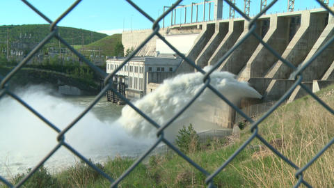 Hydro electric dam 05 Live Action