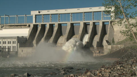 Hydro electric dam spillway ws 03 Live Action
