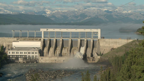 Ghost Hydro Electric Dam 01 Live Action