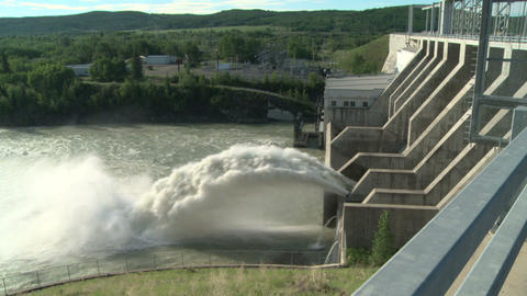 Ghost Hydro Electric Dam 04 Live Action