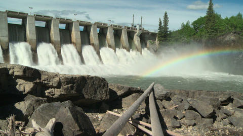 Hydro Dam with Rainbow ws 03 Live Action