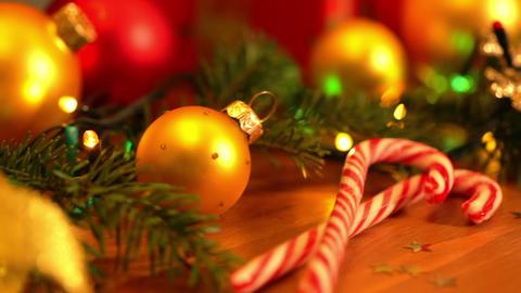 Christmas Still Life stock footage