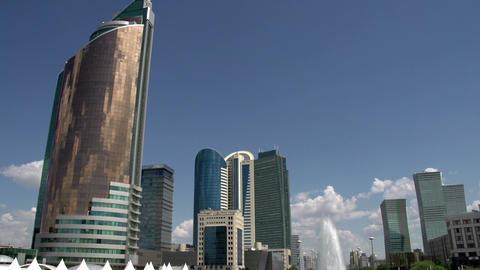 Kazakhstans Capital Astana Footage
