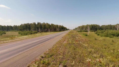 Aerial Shot. Road Aerial View stock footage