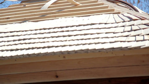 Cedar wooden shingles roof roofing roofwork carpen Live Action