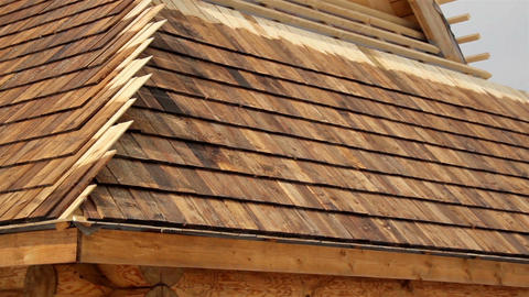 Cedar wooden shingles shake roof roofing roofworki Live Action