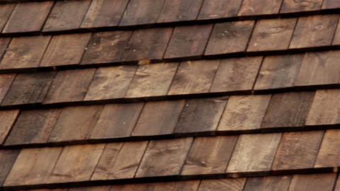 Closer Cedar wooden shingles roof roofing roof ind Live Action