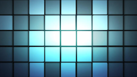 Digital Square Background Animation