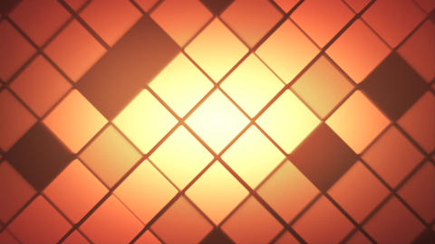 Digital Square Background Animation