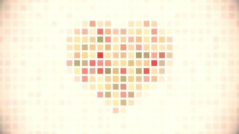 pixel heart seamless loop animation Animation