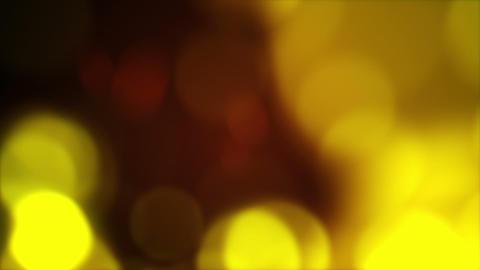 blurred yellow circles flashing rush loopable back Animation