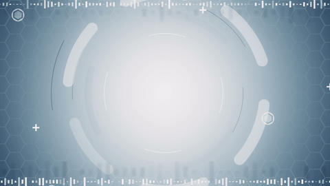 grey abstract techno loopable background Animation