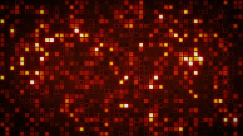 beaming orange squares loopable background Animation