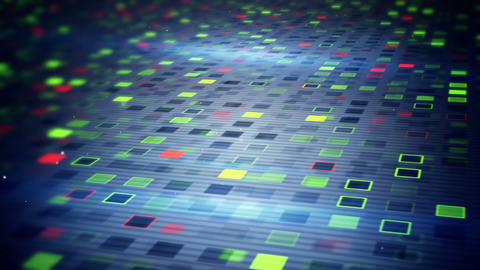 beaming squares loopable techno background Animation