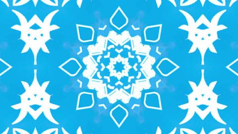 Wonderful Kaleidoscopic Background Loop HD 14 stock footage