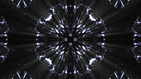 Wonderful Kaleidoscopic Background Loop HD 20 stock footage