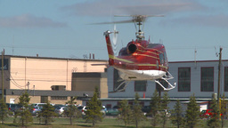 HD2009-5-1-12 huey lift off and hover Stock Video Footage