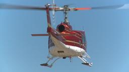 HD2009-5-1-16 huey hover empty sky Stock Video Footage