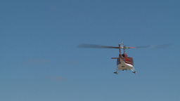 HD2009-5-1-18 huey hover empty sky ofset Stock Video Footage