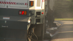 HD2009-5-2-4 street sweepers Footage