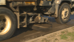 HD2009-5-2-10 street sweepers Stock Video Footage