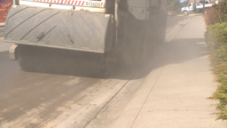 HD2009-5-2-16 street sweepers Stock Video Footage