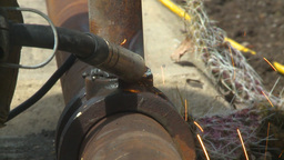 HD2009-5-2-21 welding Stock Video Footage