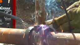 HD2009-5-2-23 welding Stock Video Footage
