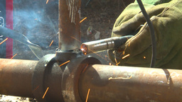 HD2009-5-2-23 welding Stock Video Footage