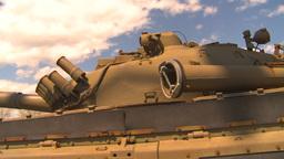 HD2009-5-6-8 T72 tank Stock Video Footage