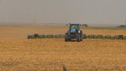 HD2009-5-6-14 tilling fields Stock Video Footage