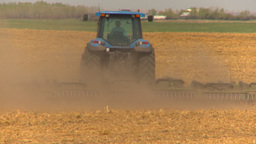 HD2009-5-6-16 tilling fields Footage