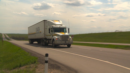 HD2009-5-6-18 TN truck Stock Video Footage