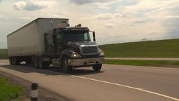HD2009-5-6-20 TN truck Stock Video Footage