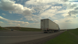 HD2009-5-6-22 TN trucks Stock Video Footage