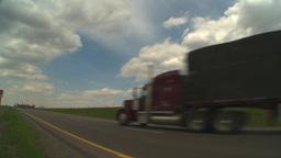 HD2009-5-6-24 TN truck Stock Video Footage