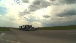 HD2009-5-6-28 TN truck Stock Video Footage