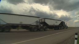 HD2009-5-6-28 TN truck Stock Video Footage