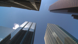 HD2009-5-7-8 building spin Stock Video Footage