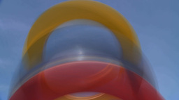 HD2009-5-10-4 abstract rings Footage