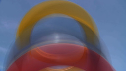 HD2009-5-10-4 abstract rings Stock Video Footage