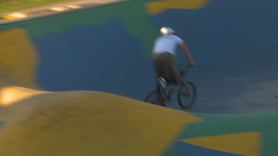 HD2009-5-10-20 BMX skateboard park Footage