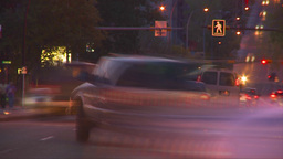HD2009-5-10-26 traffic trippy Stock Video Footage