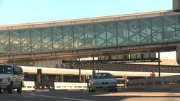HD2009-11-1-5 San Fran airport traffic plus15 Stock Video Footage