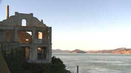 HD2009-11-1-9 Alcatraz ruins Footage