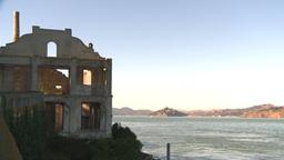 HD2009-11-1-9 Alcatraz ruins Stock Video Footage